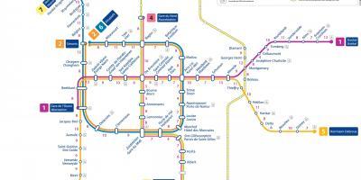 paris metro plan pdf