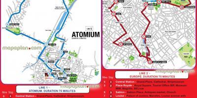 Brussels map Maps Brussels Belgium